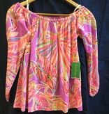 Lilly Pulitzer 26132 555 RF7 L ENNA KNIT TOP AMETHYST SUNSEEKERS SIZE L by Lilly Pulitzer