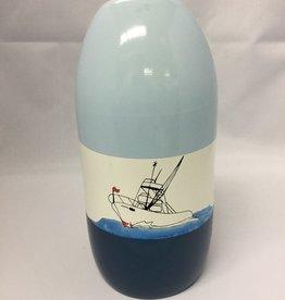 Fenwick Float-ors Chesapeake Buoy, Motorboat DESIGN, Light Blue Top / White Stripe / Royal Blue Bottom  BY FENWICK FLOAT-ORS