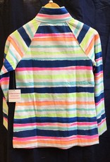 Lilly Pulitzer 20600 999 RG4 XL UPF 50+ SKIPPER POPOVER MULTI CATS MEOW STRIPE SIZE XL by Lilly Pulitzer