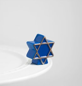 Nora Fleming Star of David Minis A122 by Nora Fleming