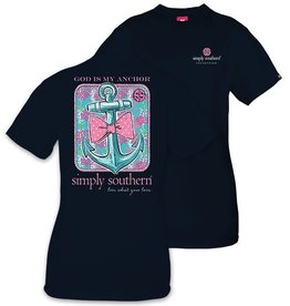 Simply Southern ANCHOR-NAVY-SMALL by Simply Southern