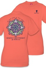 Simply Southern COMPASS-POPPY-SMALL by Simply Southern