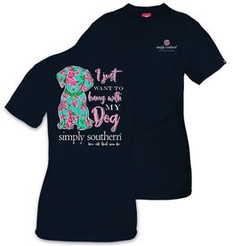 Simply Southern DOG-NAVY-SMALL