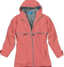New Englander Rain Jacket Womens Coral 5099 256 S