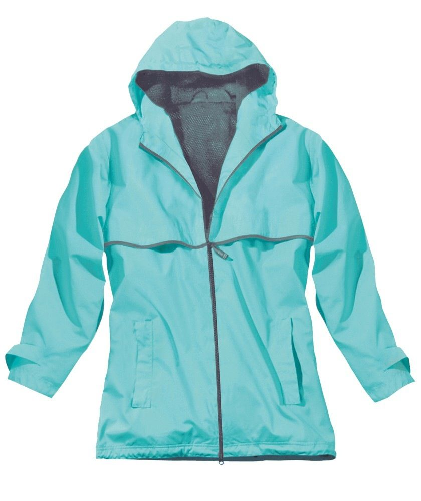 Women's New Englander Rain Jacket Aqua 5099 236 S
