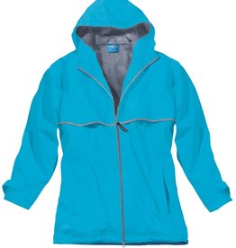 5099 192 S Women's New Englander Rain Jacket Wave Reflective Size Small by Charles River Apparel