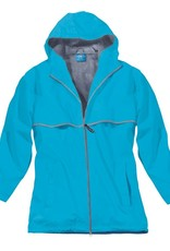 5099 192 XL Women's New Englander Rain Jacket Wave Reflective Size X-Large by Charles River Apparel