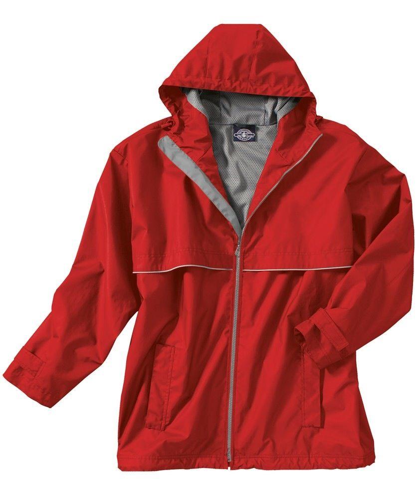New Englander Rain Jacket Mens Red 9199 060 L