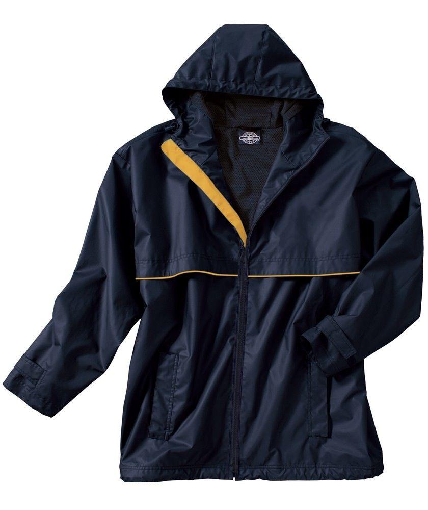 New Englander Rain Jacket Mens True Navy / Yellow 9199 046 XL