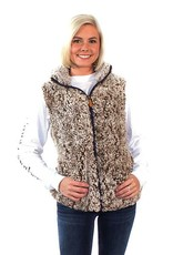 Simply Southern SHERPA-VEST-MOCHA-LARGE by Simply Southern