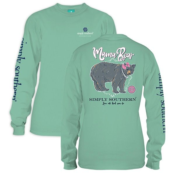 Simply Southern LS-MAMABEAR-FRESH-XLARGE by Simply Southern