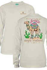 Simply Southern LS-CAMEL-PEARL-MEDIUM by Simply Southern