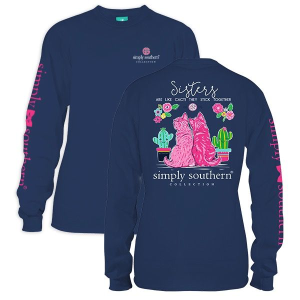Simply Southern LS-PREPPYSISTERS-MOONRISE-S by Simply Southern