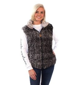 Simply Southern SHERPA-VEST-STEEL-SMALL by Simply Southern