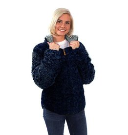 Simply Southern SHERPA-PULL-NAVY-MEDIUM by Simply Southern