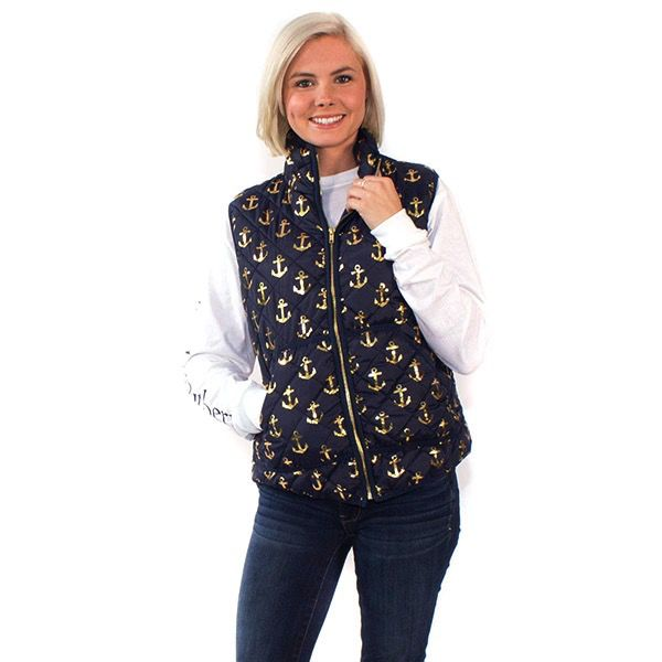 Simply Southern QV-ANCHOR-NAVY-SMALL by Simply Southern