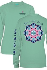 Simply Southern LS-NEVER-FRESH-LARGE Long Sleeve Tee by Simply Southern