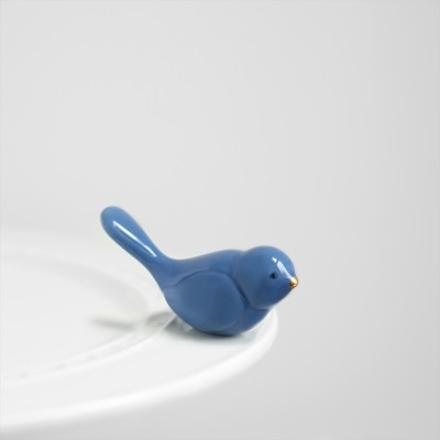 Nora Fleming A08 bluebird of happiness (bluebird) Minis by Nora Fleming