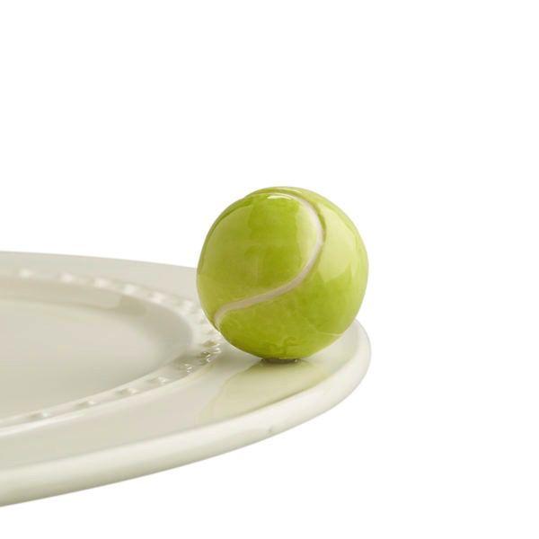 Nora Fleming A72 Game, set, match! (tennis ball) Minis by Nora Fleming