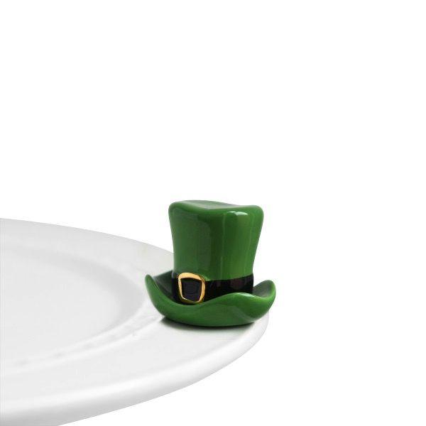 Nora Fleming A87 spot o' irish (st patty hat) Minis by Nora Fleming