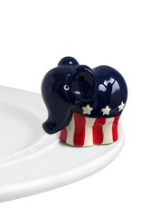Nora Fleming A99 GOP Elephant (elephant) Minis by Nora Fleming