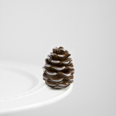 Nora Fleming A110 pretty pinecone (pinecone) Minis by Nora Fleming