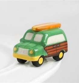 Nora Fleming A127 surf's up (woody wagon) Minis by Nora Fleming