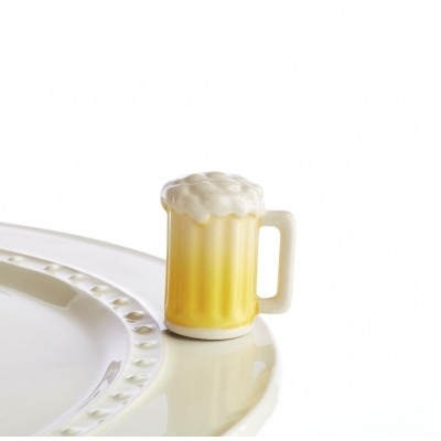 Nora Fleming A157 I'll drink to that! (beer mug) Minis by Nora Fleming