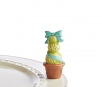 Nora Fleming A159 garden of joy blue (topiary blue) Minis by Nora Fleming