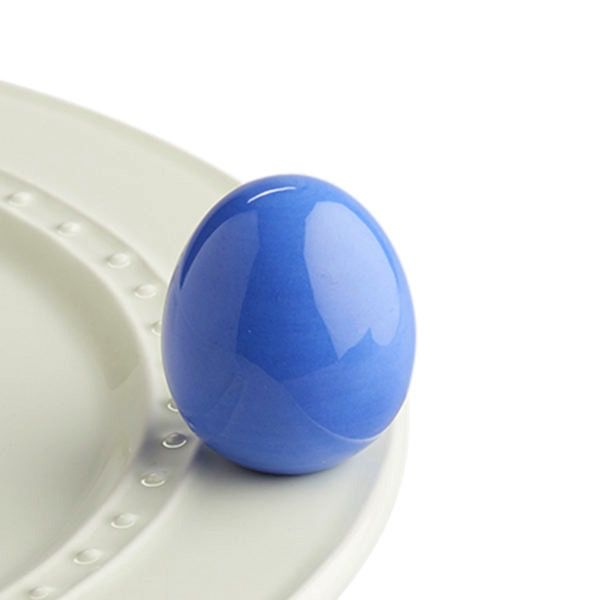 Nora Fleming A193 easter egg-citement (periwinkle egg) Minis by Nora Fleming