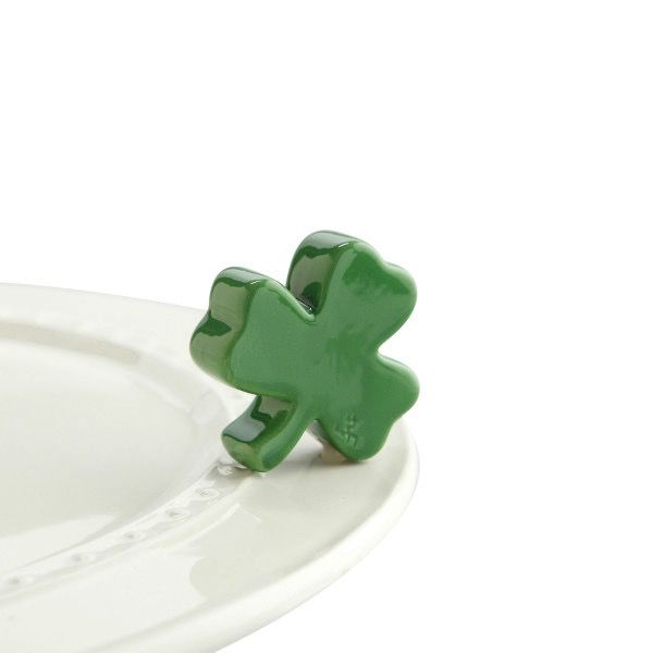 Nora Fleming A28 irish at heart (shamrock) Minis by Nora Fleming