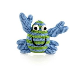 Pebble 200-099CRB CRAB RATTLE BLUE