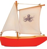 MOULIN ROTY OCTOPUS SAIL BOAT