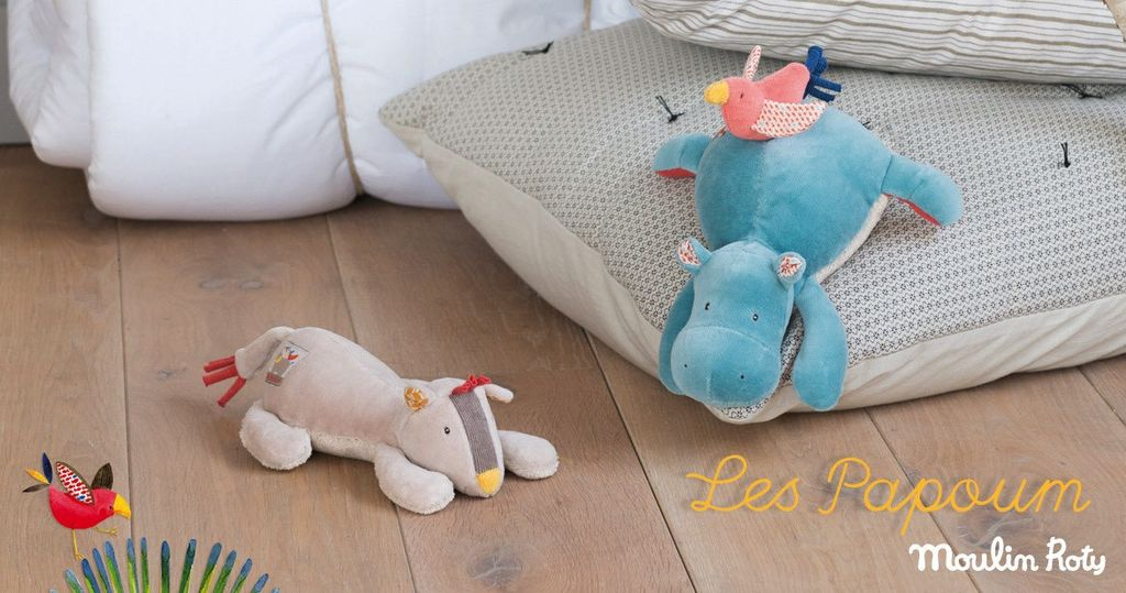 MOULIN ROTY MUSICAL HIPPO
