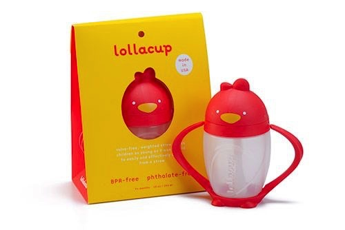 LOLLALAND Lollaland Lollacup- Bold Red