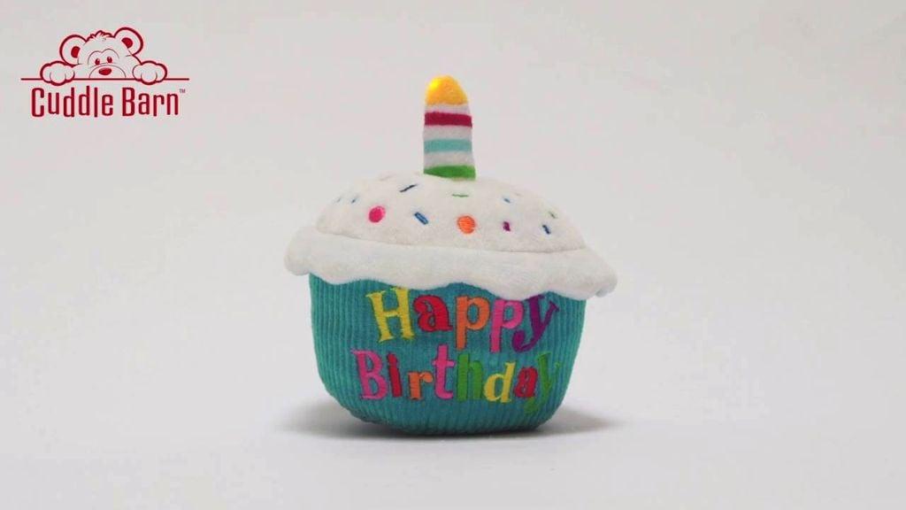 Cuddle Barn Birthday Cupcake Spinner