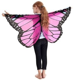 Douglas the Cuddle Toy Monarch Wings with Pink Glitter