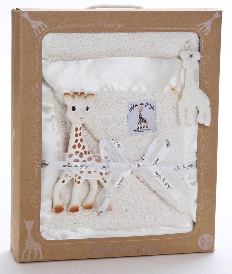calisson inc. Sophie La Girafe Prestige Blanket