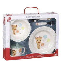 calisson inc. Sophie La Girafe Dish Set
