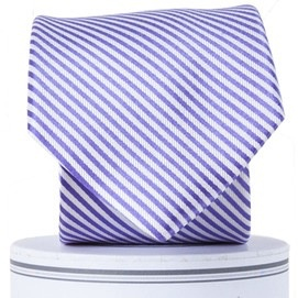 Collared Greens Collared Greens Purple Stripes Tie (Adult)