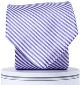 Collared Greens Collared Greens Purple Stripe Tie (Youth)