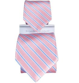 Collared Greens Collared Greens Pink/Carolina tie (Youth)