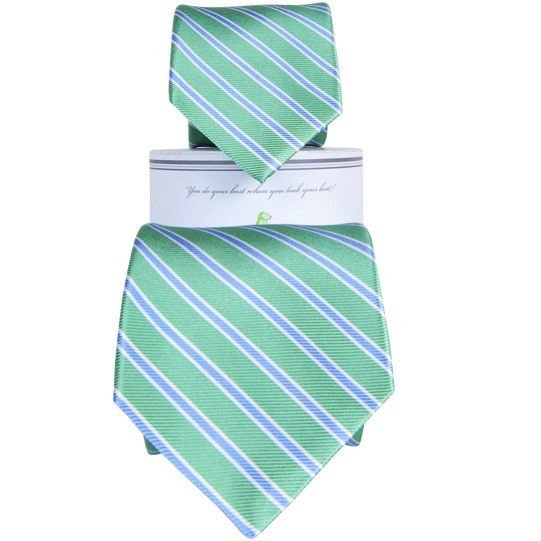Collared Greens Collared Greens Teal/Blue Tie (Youth)