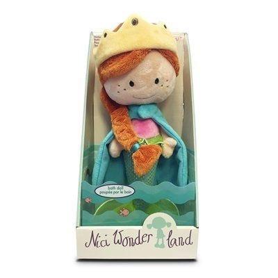 JC SALES Mini Debbie Mermaid Bath Doll