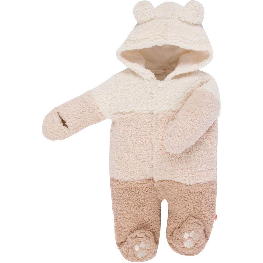 magnificent baby Smart Bears Cream Fleece Footie