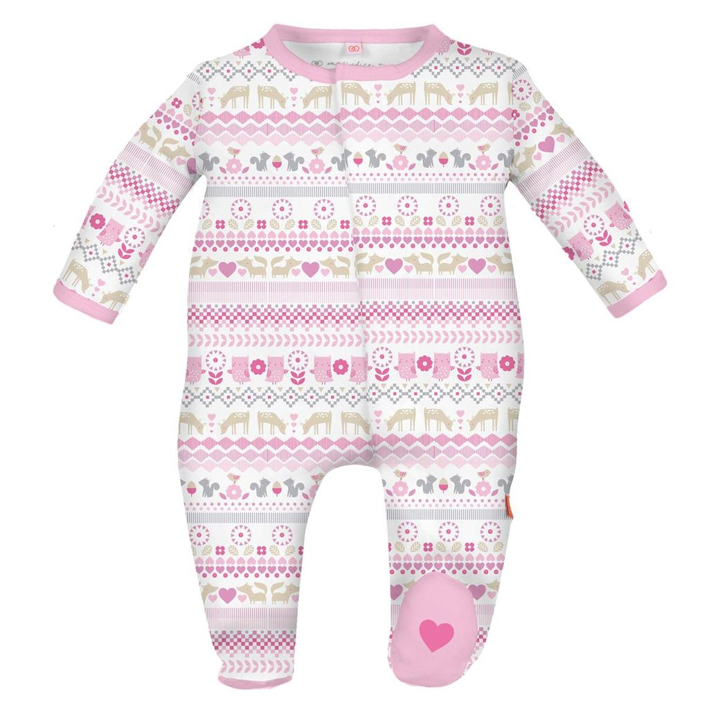 magnificent baby Fair Isle Footie
