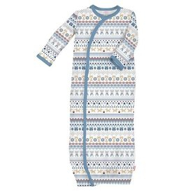 magnificent baby Blue Fair Isle Gown