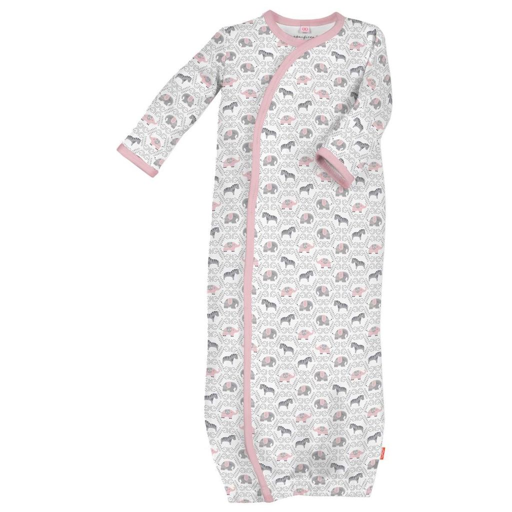 magnificent baby Girl Darjeeling Damask Gown