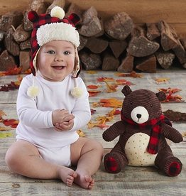 Baby Aspen Pierre The Bear Plus Hat For Baby