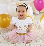 Baby Aspen My First  Birthday Three Piece Tutu Outfit